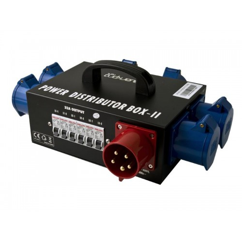QP-260 POWER BOX II 6 x 32A QUARKPRO