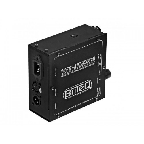 WT-DMXG4 WIRELESS DMX EMISOR BRITEQ