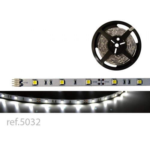 BOBINA LED FLEX 5m 30 LED/m 12V IP-20 B.FRIO