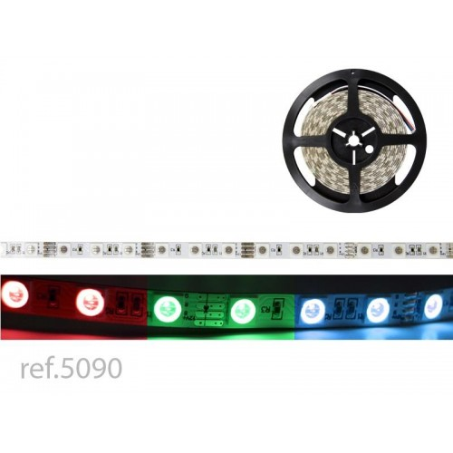 BOBINA LED FLEX 5m 60 LED COB RGB / 12V IP-20