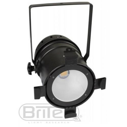 FOCO PAR 56 BLACK LED COB 100W BLANCO FRIO BRITEQ