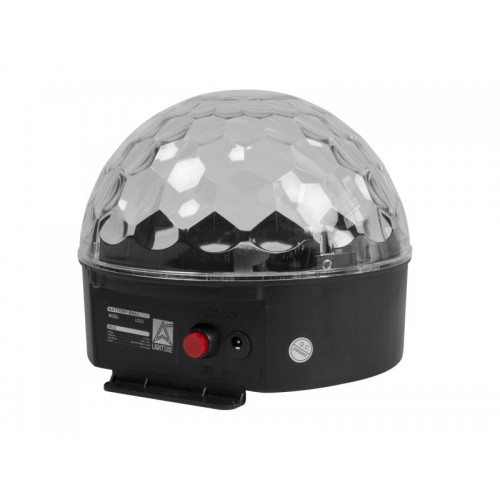 EFECTO MINI LED BALL CON BATERIA 6x3W RGBW LIGHTSIDE